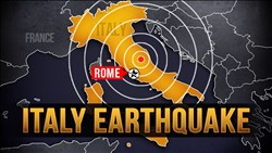 <b>Italy </b> Earthquake