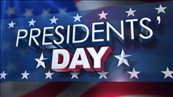 <B>Presidents' Day</B> Package