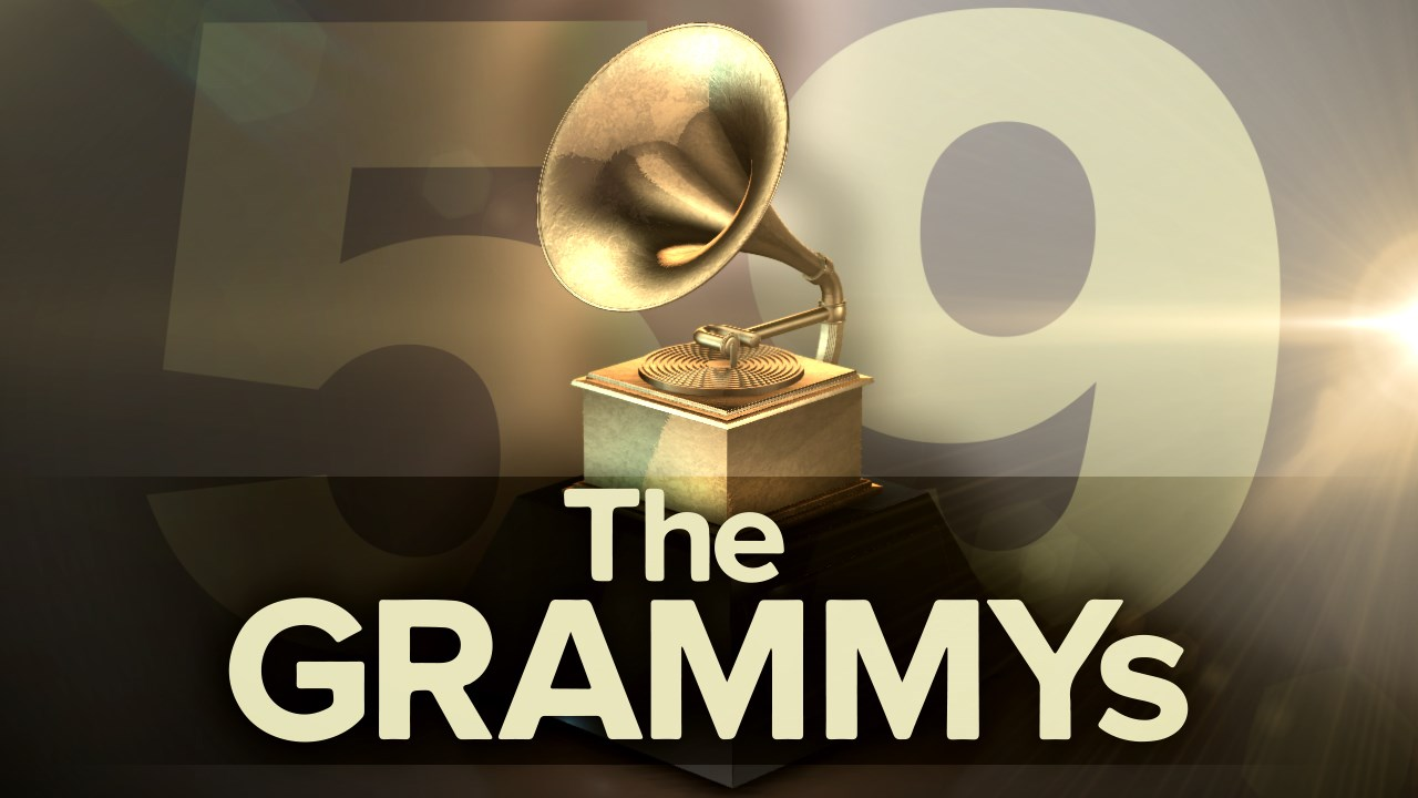 <b>The 59th </b> Grammys