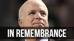 <b>Remembering </b>John McCain