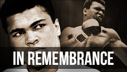 <b>Remembering</b> Muhammad Ali